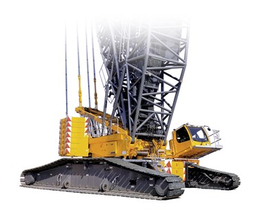 Liebherr LR 1600-2 crawler crane - Mountain Crane